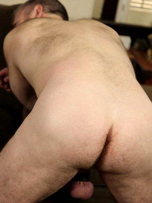 Mature man David Teal shows cock