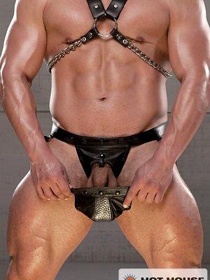 Muscled man Vince Ferelli