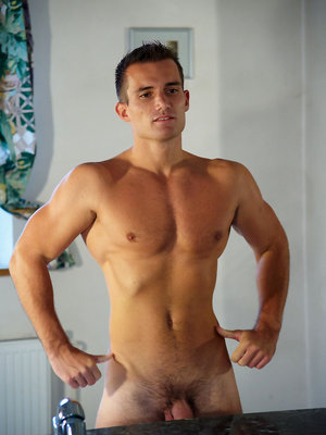 Paul posing naked