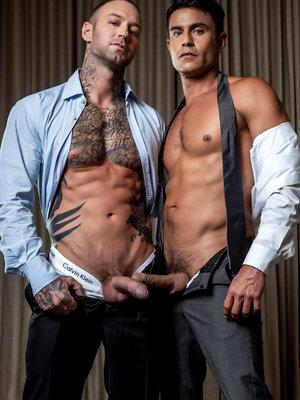 Rafael Carreras bottoms for Dylan James