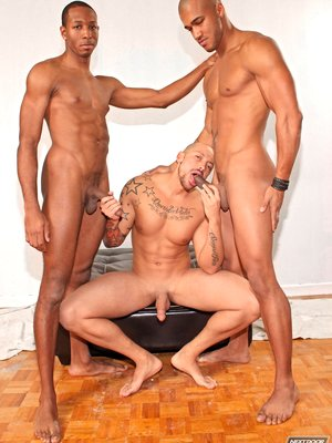 Fucking hard threesome