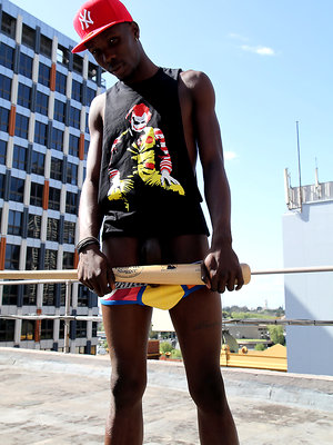 Jimmy Allen - Stripped naked on an inner city rooftop