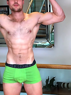 Muscular Hunk Troy